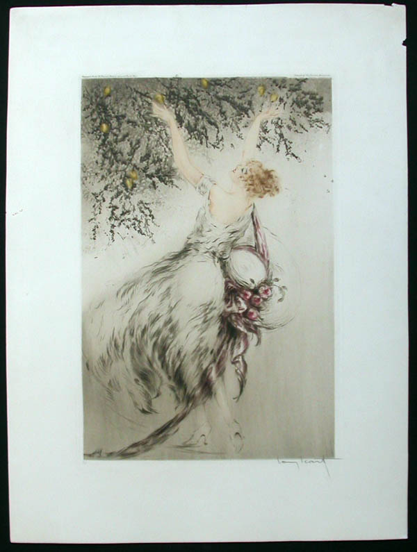 Louis Icart Lemmon Tree