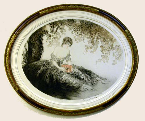 Louis Icart Little Prisoner