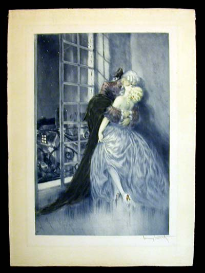 Louis Icart Lovers