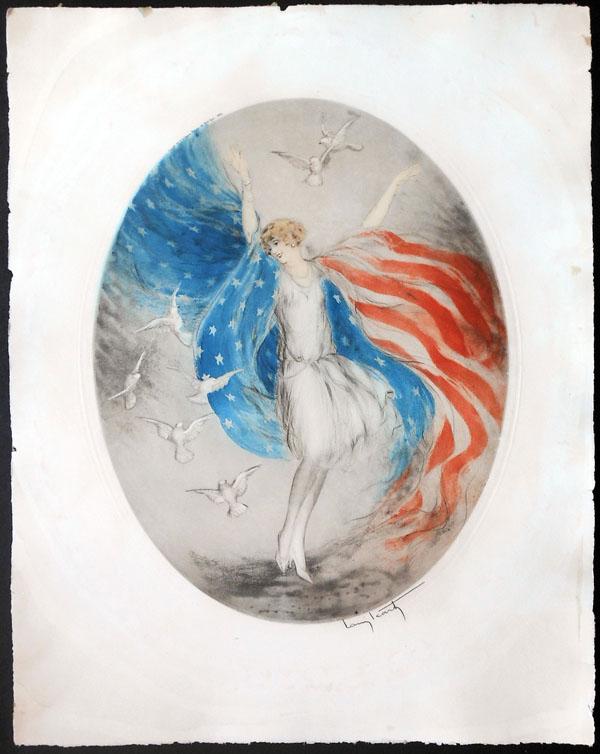 Louis Icart Miss America