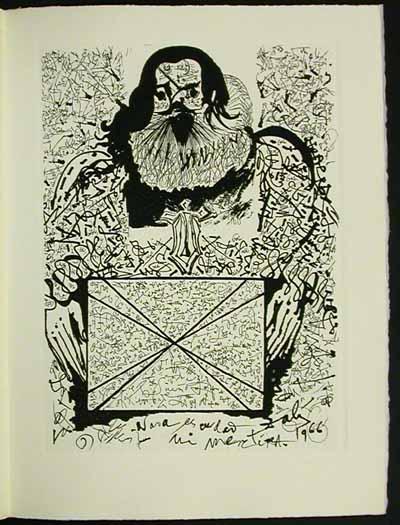 Salvador Dali - La Vida es Sueno, Life is a Dream - Portrait of the Signatures