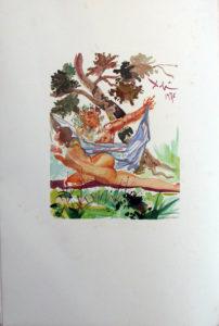 Salvador Dali - L'Art de Aimer – Ovide - O