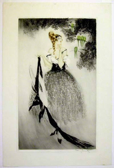 Louis Icart On the Branches