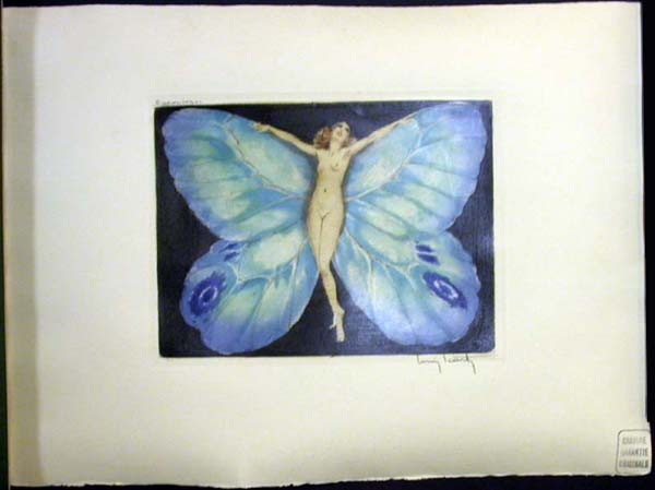Louis Icart Open Wings
