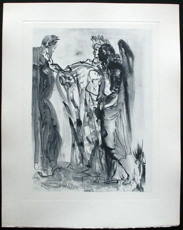 Salvador Dali - Divine Comedy Complete Books - The Proud One