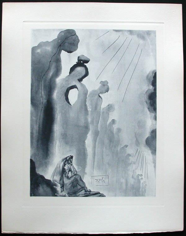 Salvador Dali - Divine Comedy Complete Books - The Neglectful