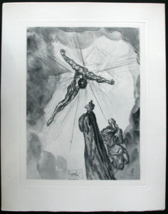 Salvador Dali - Divine Comedy Complete Books - The Cross of Mars