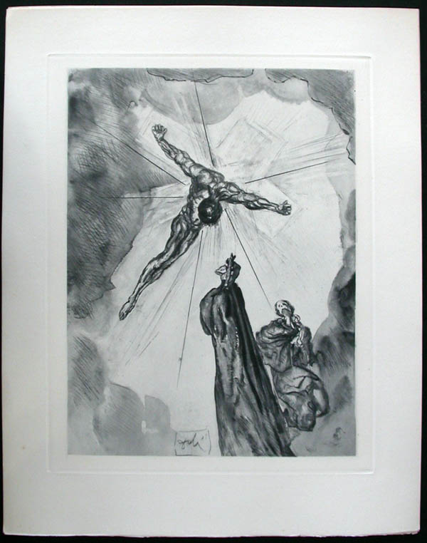 Salvador Dali - Divine Comedy Complete Books - The Cross of Mars