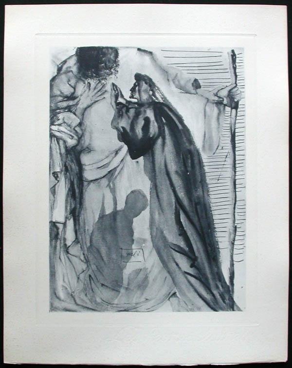 Salvador Dali - Divine Comedy Complete Books - The Blind for Envy