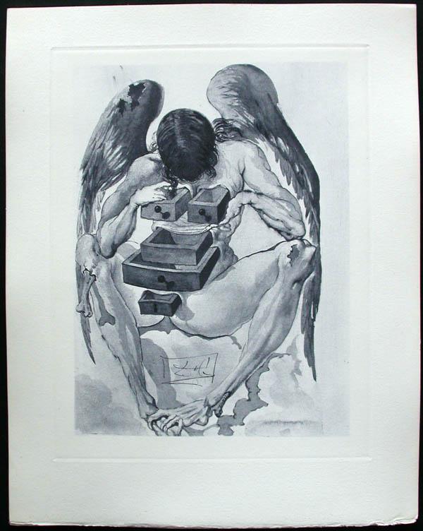 Salvador Dali - Divine Comedy Complete Books - The reign of the Penitents