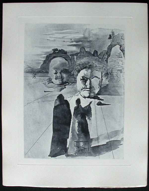 Salvador Dali - Divine Comedy Complete Books - Our Lady of the Annunciation