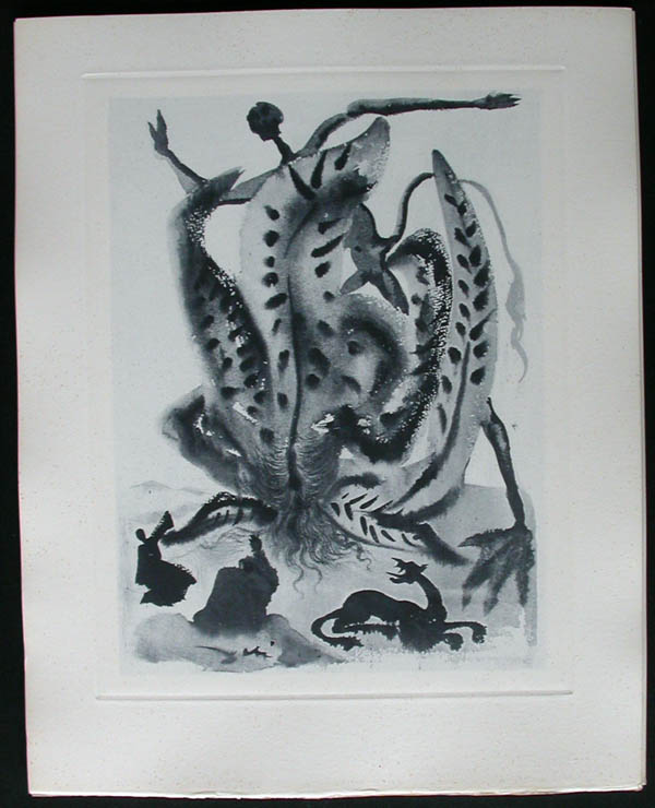 Salvador Dali - Divine Comedy Complete Books - Greed