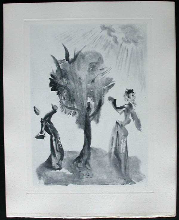 Salvador Dali - Divine Comedy Complete Books - The Tree of Punishment