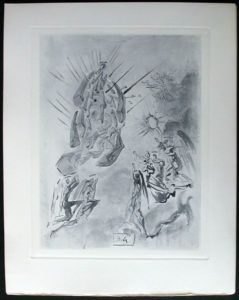 Salvador Dali - Divine Comedy Complete Books - The Angels of