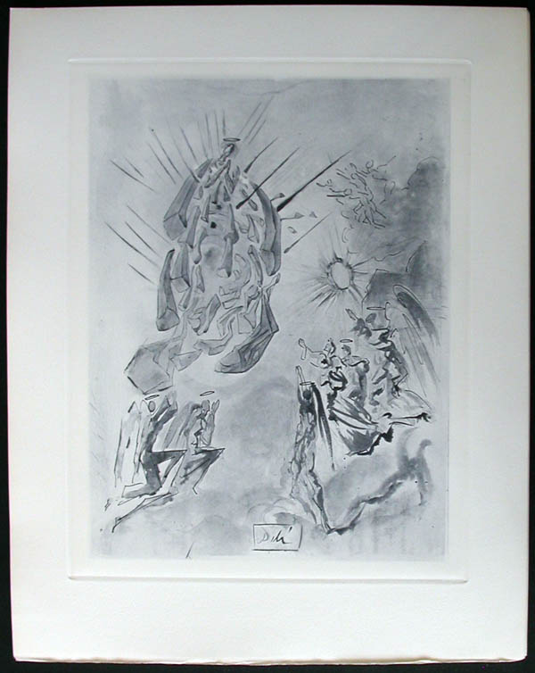 Salvador Dali - Divine Comedy Complete Books - The Angels ofthe Empyrean