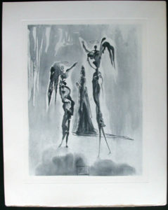 Salvador Dali - Divine Comedy Complete Books - St. Peter and Dante