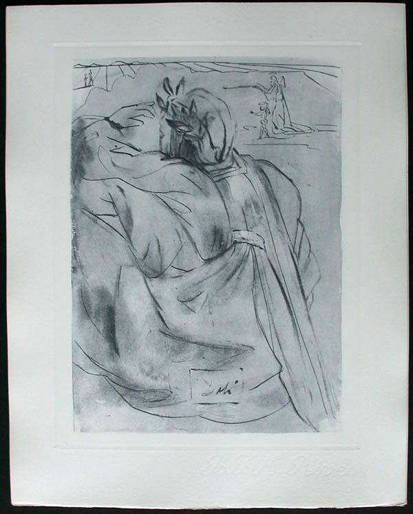 Salvador Dali - Divine Comedy Complete Books - Dante's Repentance