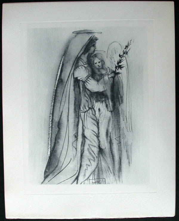 Salvador Dali - Divine Comedy Complete Books - Preparation for the Final Prayer