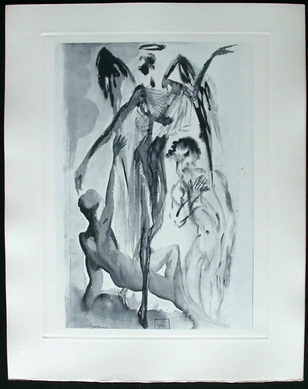 Salvador Dali - Divine Comedy Complete Books - Dante Re-awakes