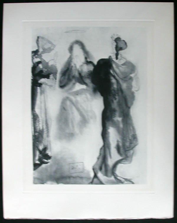 Salvador Dali - Divine Comedy Complete Books - St. Bernard's Prayerto the Virgin
