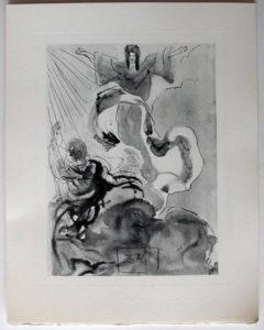 Salvador Dali - Divine Comedy Complete Books - Piccarda Donati