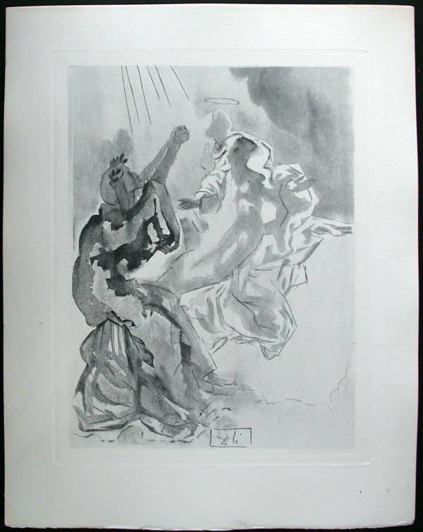Salvador Dali - Divine Comedy Complete Books - In the Heaven of Mercury