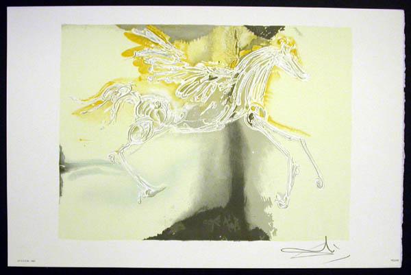Salvador Dali - Les Chevaux de Dali - Pegasus