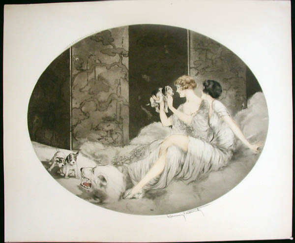 Louis Icart Puppies