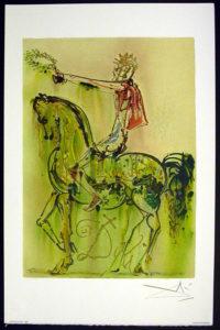 Salvador Dali - Les Chevaux de Dali - Roman Horse