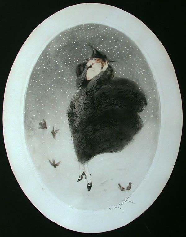 Louis Icart Snow