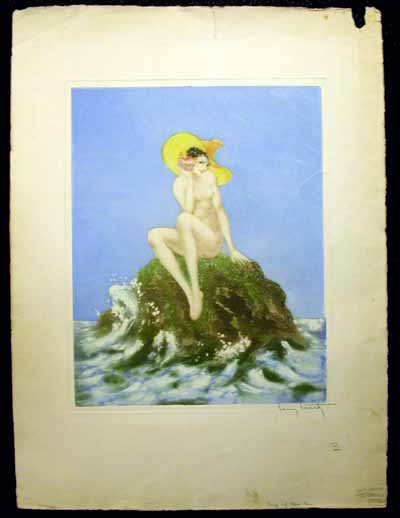 Louis Icart Song of the Sea