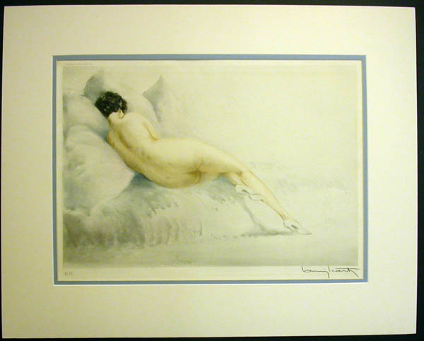 Louis Icart Sulking