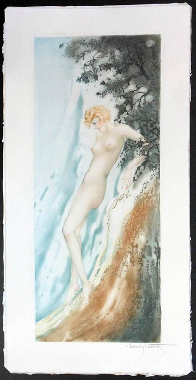Louis Icart Waterfall