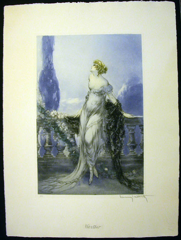 Louis Icart Werther