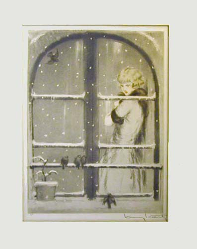 Louis Icart Winter