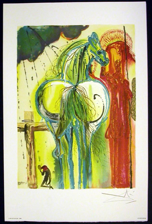 Salvador Dali - Les Chevaux de Dali - Woman Horse