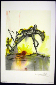 Salvador Dali - Les Chevaux de Dali - Work Horse