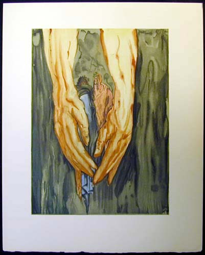 Salvador Dali - Divine Comedy - In the Hands of Antaeus