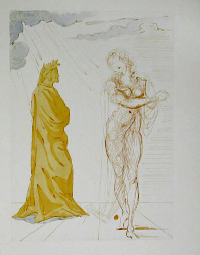 Salvador Dali - Divine Comedy - Reassurance