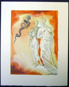 Salvador Dali - Divine Comedy - Fraud