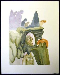 Salvador Dali - Divine Comedy - The Corrupt