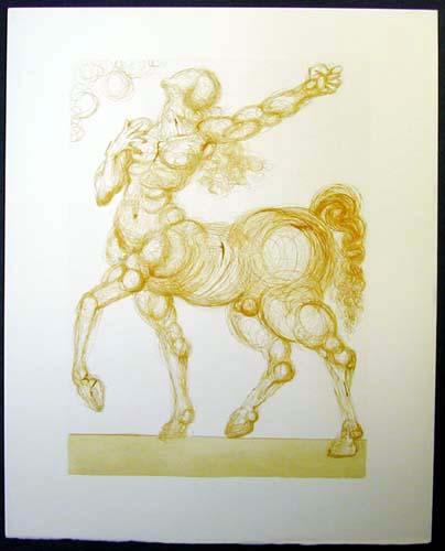 Salvador Dali - Divine Comedy - The Centaur