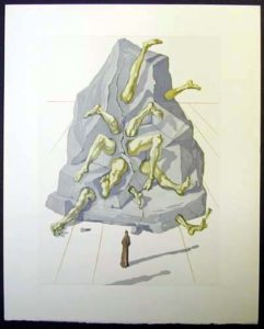Salvador Dali - Divine Comedy - The Simoniac