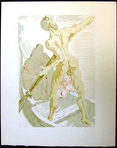 Salvador Dali - Divine Comedy - Charon