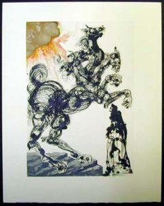 Salvador Dali - Divine Comedy - Cerberus
