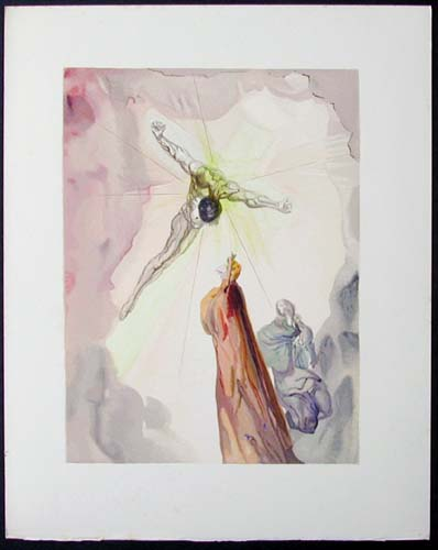 Salvador Dali - Divine Comedy - The Cross of Mars