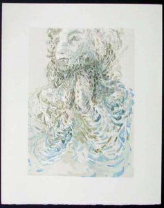 Salvador Dali - Divine Comedy - Cacciaguida Sees Dante's Exile in God