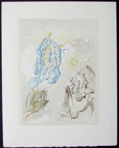 Salvador Dali - Divine Comedy - The Apotheosis of