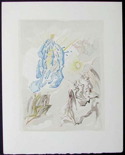 Salvador Dali - Divine Comedy - The Apotheosis of the Virgin Mary