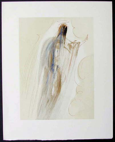 Salvador Dali - Divine Comedy - Arrivalat the Empyrean